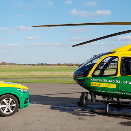 ATF Supplies Support Hampshire & Isle of Wight Air Ambulance